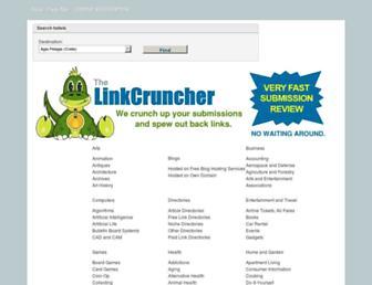 Thumbshot of Linkcruncher.com