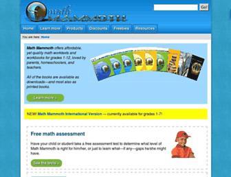 mathmammoth.com screenshot