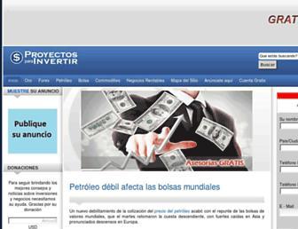 proyectosparainvertir.com screenshot