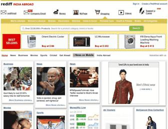 Thumbshot of Rediffmail.com