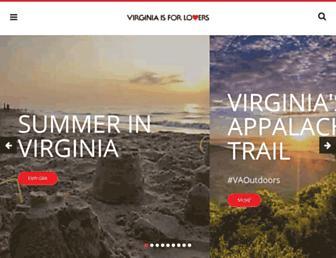 virginia.org screenshot