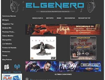 elgenero.com screenshot