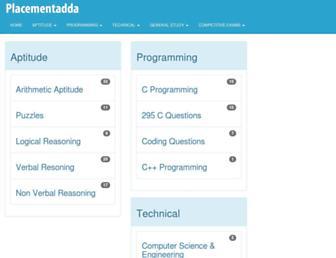 placementstudy.com screenshot