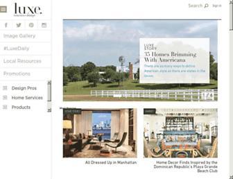 Thumbshot of Luxesource.com