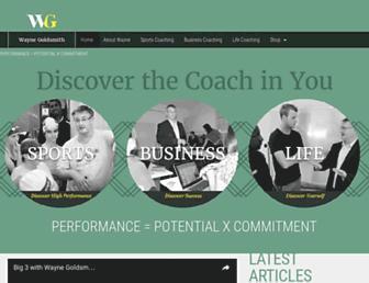 wgcoaching.com screenshot