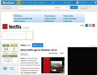 netflix.en.softonic.com screenshot