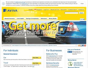 www2.aviva.com.sg screenshot