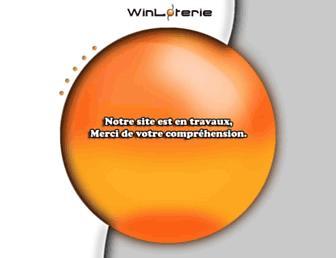 winloterie.fr screenshot