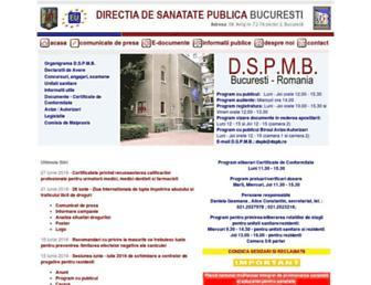 dspb.ro screenshot