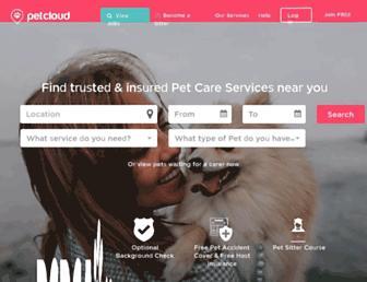 petcloud.com.au screenshot