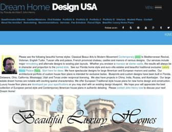 dreamhomedesignusa.com screenshot