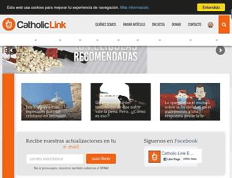 catholic-link.com screenshot