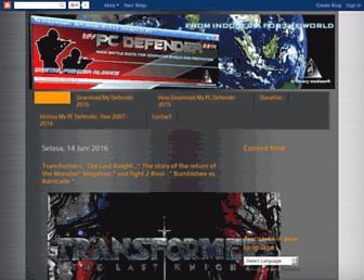 mypcdefender.blogspot.com screenshot