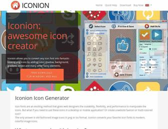 iconion.com screenshot
