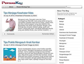 pertamakali.com screenshot