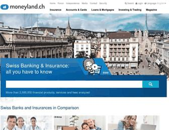 moneyland.ch screenshot