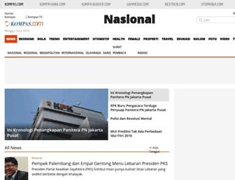 nasional.kompas.com screenshot