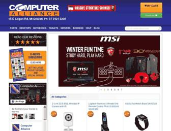 Thumbshot of Computeralliance.com.au