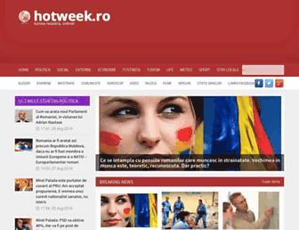 hotweek.ro screenshot