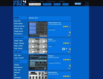 vst4free.com screenshot