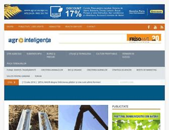 agrointel.ro screenshot
