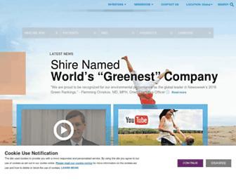 Thumbshot of Shire.com