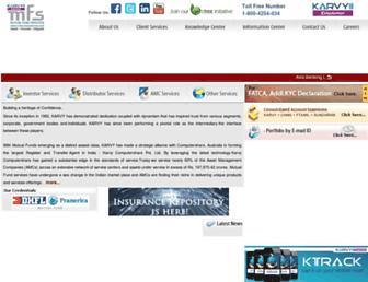 Thumbshot of Karvymfs.com