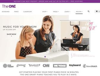smartpiano.com screenshot