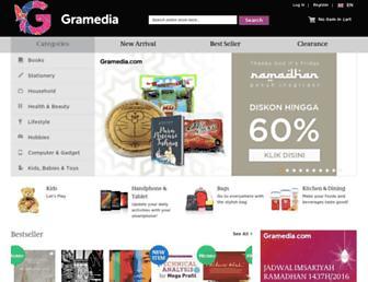 gramedia.com screenshot