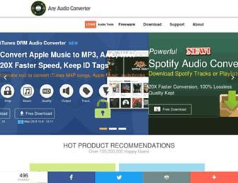 any-audio-converter.com screenshot