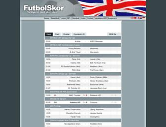 futbolskor.com screenshot