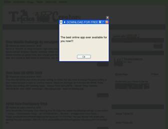 trickscreators.blogspot.com screenshot