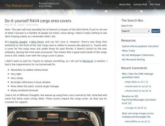 robservatory.com screenshot
