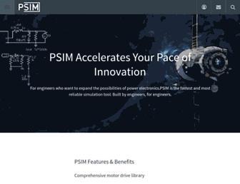 powersimtech.com screenshot