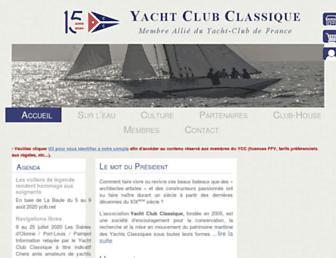 yachtclubclassique.com screenshot