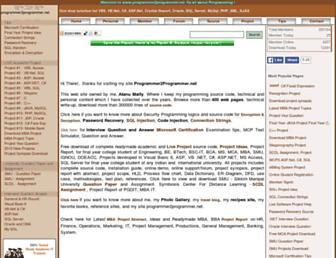 programmer2programmer.net screenshot