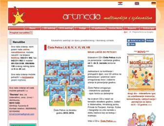 artrea.com.hr screenshot