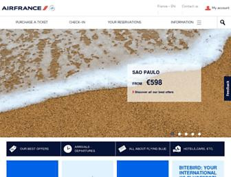 Thumbshot of Airfrance.fr