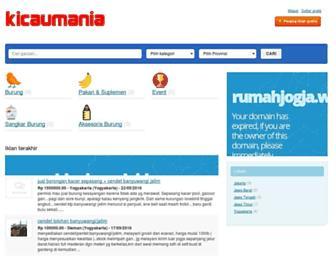 kicaumania.net screenshot