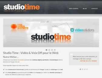 studiotime.com screenshot