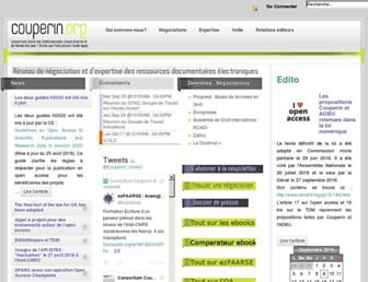 couperin.org screenshot