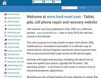 Thumbshot of Hard-reset.com