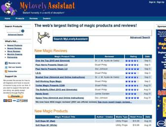 mylovelyassistant.com screenshot