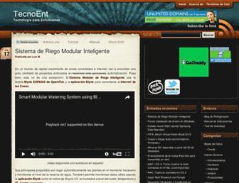 tecnoent.com screenshot