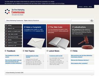 dmcommission.com screenshot