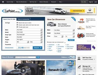 carpoint.com.au screenshot
