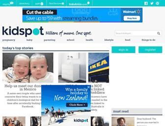 Thumbshot of Kidspot.com.au