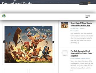 Thumbshot of Downloadcodegenerator.com