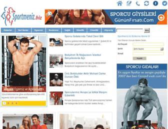 Main page screenshot of sportmeniz.biz