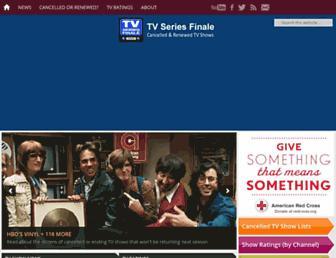 tvseriesfinale.com screenshot